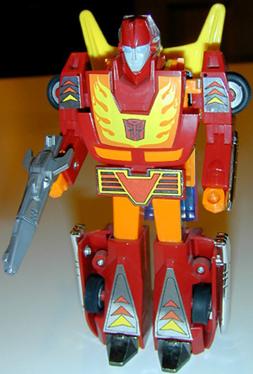 Transformers Hot Rod Generation 1