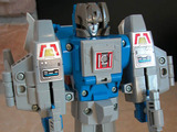 Transformers Highbrow w/ Gort Generation 1