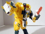 Transformers Weirdwolf w/ Monzo Generation 1