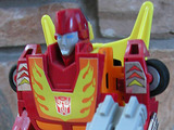 Transformers Hot Rod w/ Firebolt Generation 1