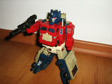 Transformers Optimus Prime w/ Hi-Q Generation 1