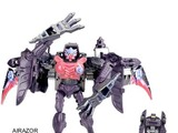 Transformers Airazor w/ Nightscream Unicron Trilogy
