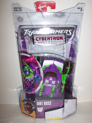 Transformers Dirt Boss Unicron Trilogy