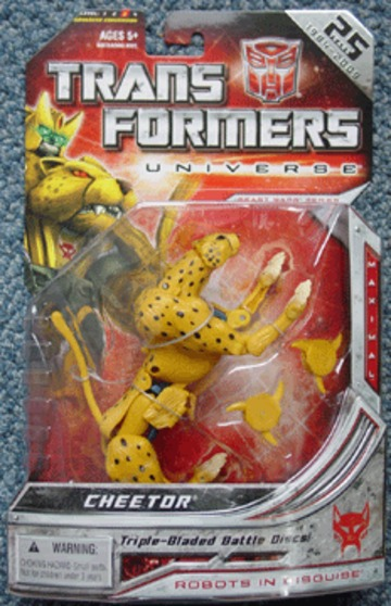 Transformers Cheetor Classics Series