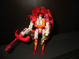 Transformers Side Burn (Red) Robots In Disguise