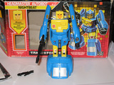 Transformers Nightbeat w/ Muzzle Generation 1