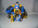 Transformers Sideswipe w/ Nightbeat Unicron Trilogy