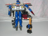 Transformers Red Alert w/ Longarm Unicron Trilogy