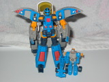 Transformers Blurr w/ Incinerator Unicron Trilogy