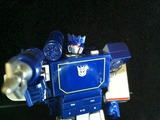 Transformers Soundwave Audio Player (Spark Blue Version) Miscellaneous (Takara)