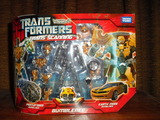 Transformers TS-02: Trans Scanning Bumblebee Transformers Movie Universe (Takara)