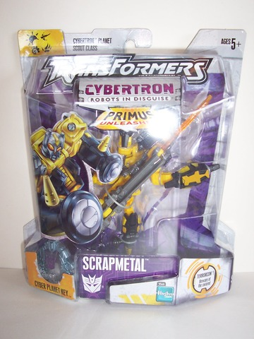 Transformers Scrapmetal (yellow) Unicron Trilogy
