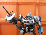 Transformers Jazz & Captain Lennox Transformers Movie Universe thumbnail 2