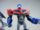 Transformers Earth Mode Optimus Prime Animated