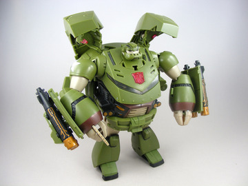 Transformers Bulkhead Animated