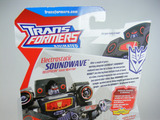 Transformers Electrostatic Soundwave w/ Ratbat Animated
