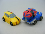 Transformers Stealth Lockdown w/ Bumblebee & Optimus Prime Animated
