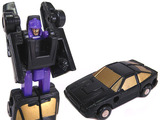 Transformers Sports Car Patrol Blackjack Generation 1