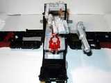 Transformers Powerlinx Optimus Prime w/ Corona Sparkplug Unicron Trilogy