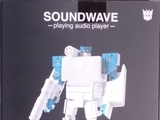 Transformers Soundwave Audio Player (Blaster Black Version) Miscellaneous (Takara)