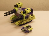 Transformers Demolisher w/ Blackout Unicron Trilogy thumbnail 0