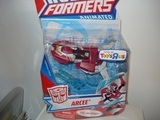 Transformers Arcee (Toys R Us Exclusive) Animated thumbnail 0