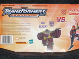Transformers Crystal Widow vs. Oil Slick Universe thumbnail 3