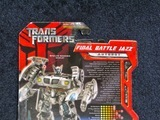 Transformers Final Battle Jazz Transformers Movie Universe