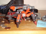 Transformers Scrapmetal (orange) Unicron Trilogy