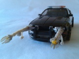 Transformers Interrogator Barricade Transformers Movie Universe thumbnail 0