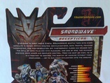 Transformers Soundwave (Preview) Transformers Movie Universe