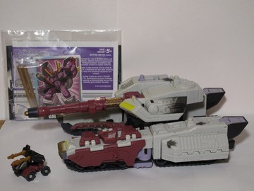 Transformers Galvatron w/ Clench Unicron Trilogy