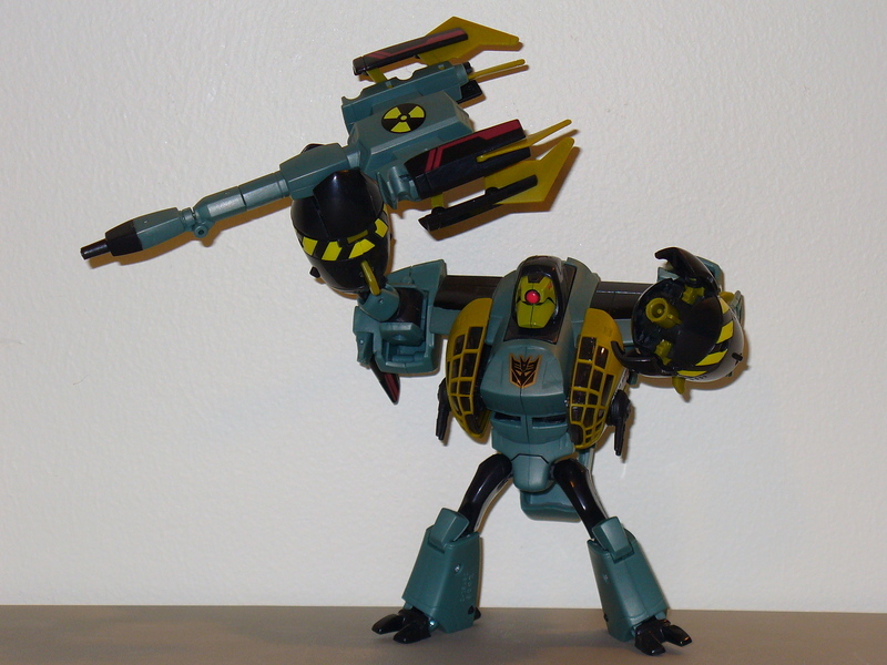 Transformers Atomic Lugnut Animated