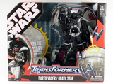 Transformers Darth Vader - Death Star Star Wars Transformers thumbnail 1