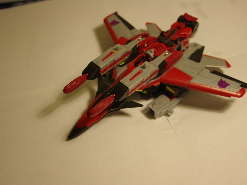 Transformers Starscream w/ Swindle Unicron Trilogy