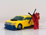 Transformers Hotshot w/ Jolt Classics Series
