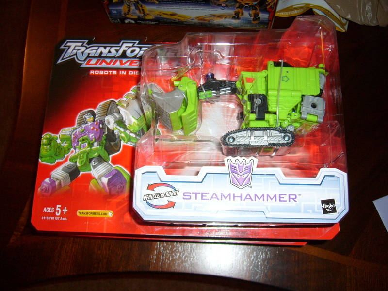 Transformers Steamhammer Unicron Trilogy