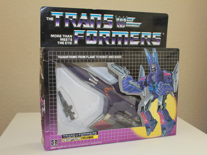 Transformers Cyclonus Generation 1