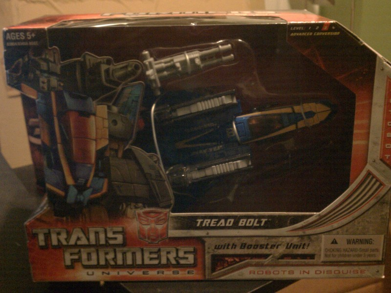 Transformers Treadbolt Classics Series
