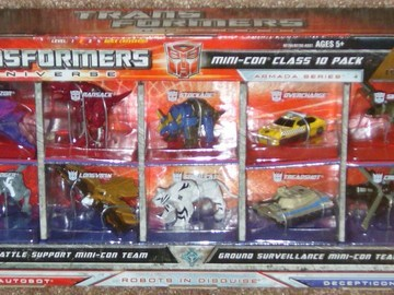 Transformers Minicon Box Set of 10 Universe