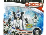 Transformers Icepick w/ Sergeant Chaos Transformers Movie Universe thumbnail 0