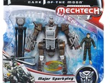 Transformers Autobot Whirl w/ Major Sparkplug Transformers Movie Universe