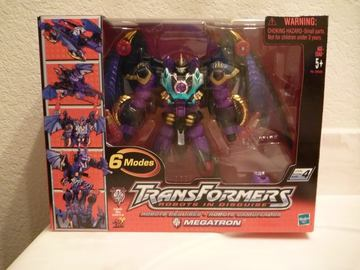 Transformers Megatron Robots in Disguise