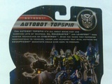 Transformers Autobot Topspin Transformers Movie Universe thumbnail 5