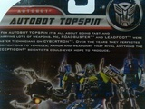 Transformers Autobot Topspin Transformers Movie Universe thumbnail 6