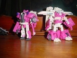 Transformers RA-20: Skids & Mudflap (Ice Cream Truck) Transformers Movie Universe (Takara)