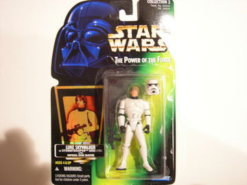 Star Wars Luke Skywalker in Stormtrooper Disguise Power of the Force (POTF2) (1995)