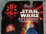Star Wars Senator Palpatine with Senate Cam Droid Episode I - The Phantom Menace