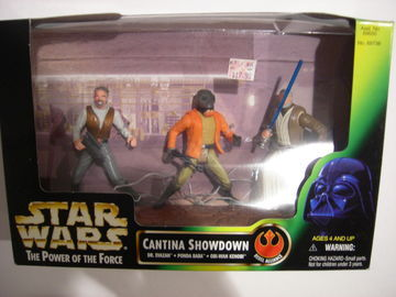 Star Wars Cantina Showdown Power of the Force (POTF2) (1995)