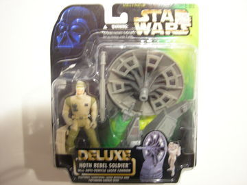 Star Wars Hoth Rebel Soldier with Anti-Vehicle Laser Cannon Power of the Force (POTF2) (1995)